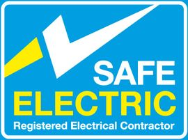 Registration under Safe Electric means the contractor is registered and insured